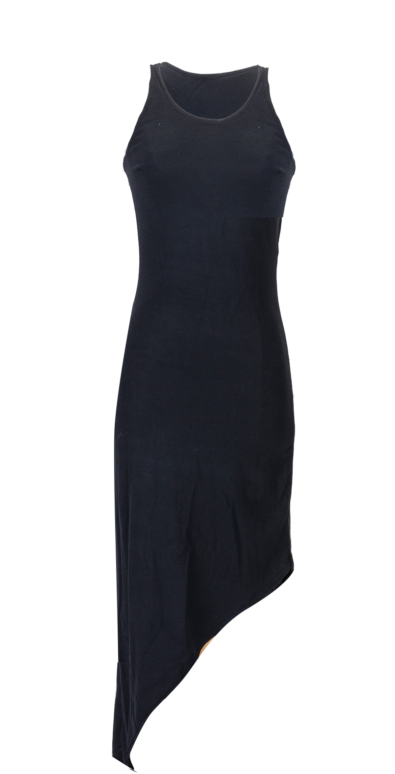 British Steele Fishtail Little Black Dress