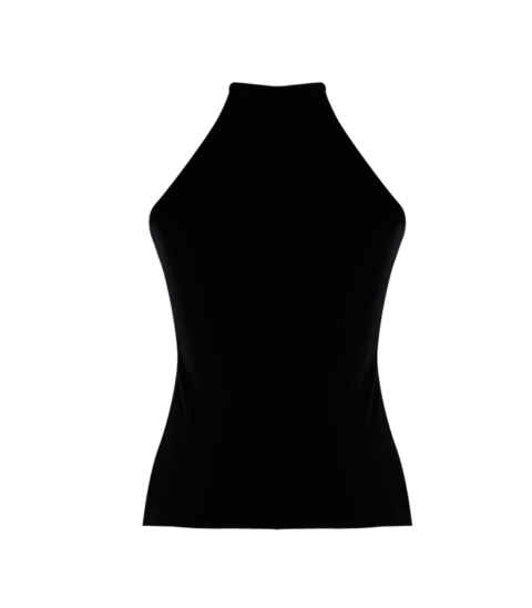 Black Racer Back Tank by British Steele