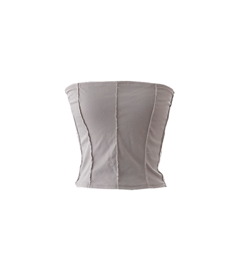 Ripped Selvedge Edge Corset Top by British Steele