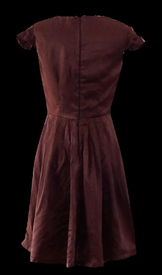 Siena Full Skirted Dress by British Steele
