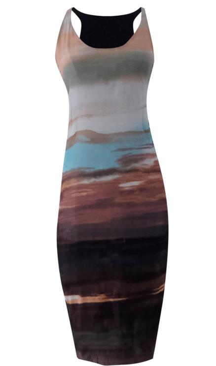 Sunset Tank Dress by British Steele