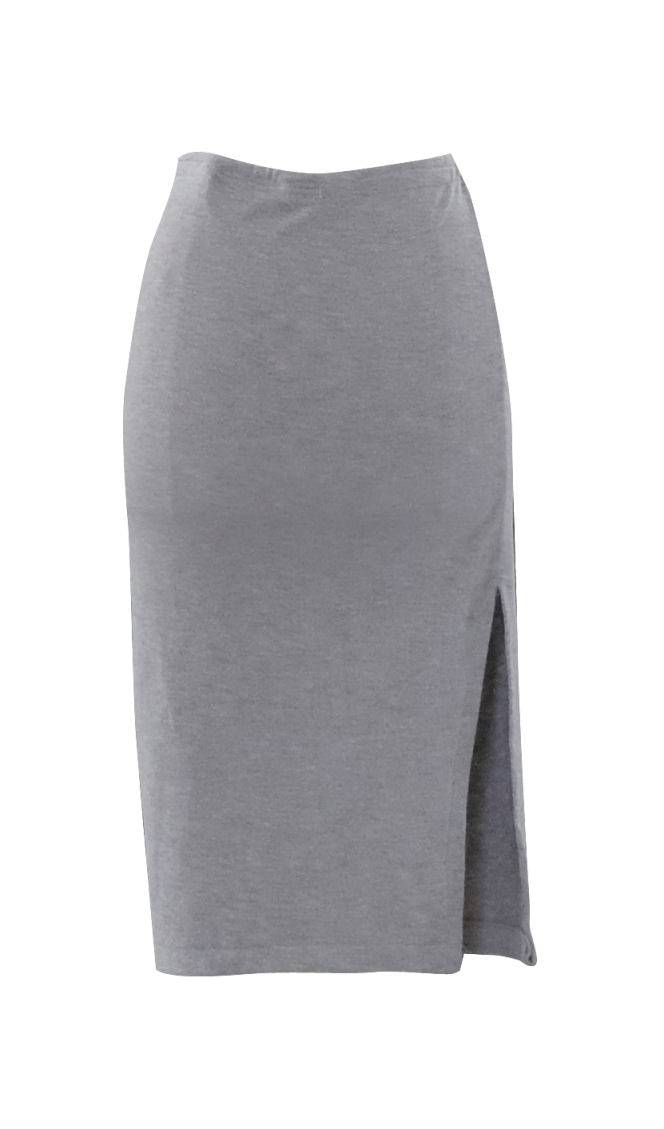 Gray Pencil Skirt by British Steele