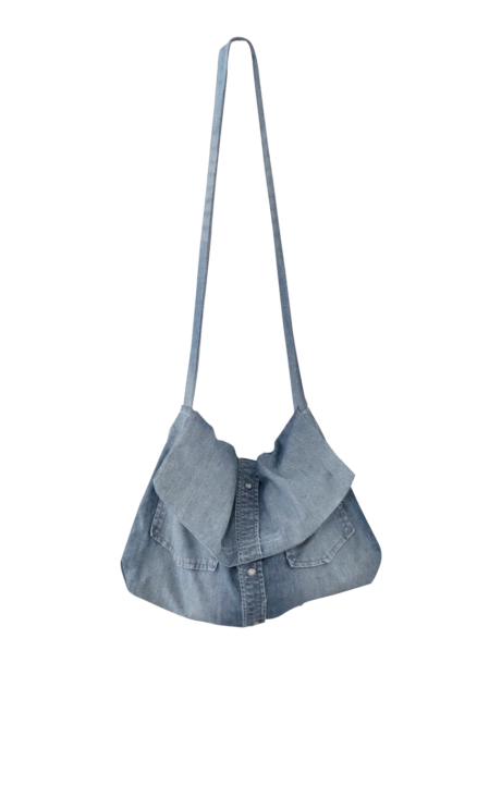Denim Messenger Bag by British Steele