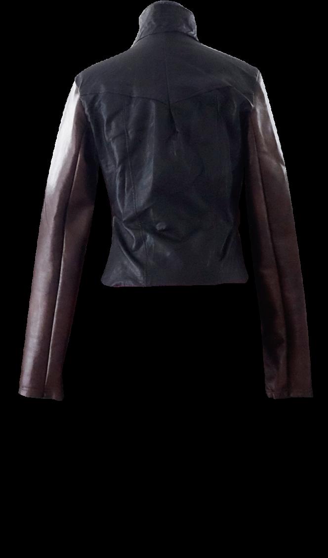 Black and Brown Motorcycle Jacket by British Steele