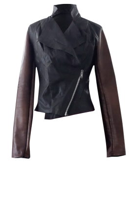 Black and Brown Motorcycle Jacket by British Steele
