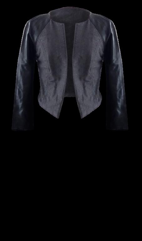 British Steele Wool and Leather Varsity Jacket
