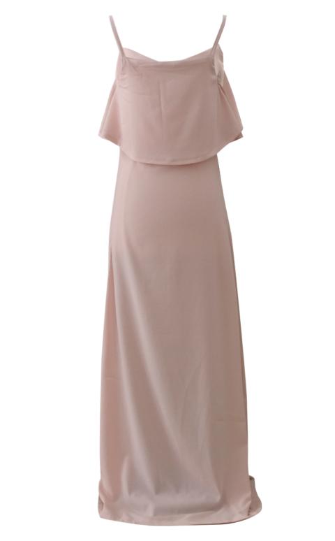Rose Pink Blush Maxi Dress