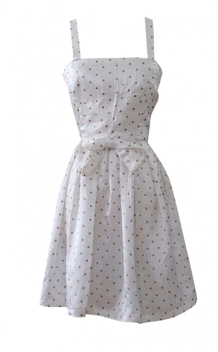 British Steele Little White Million Dollar Dress