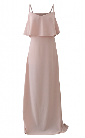 Rose Pink Blush Maxi Dress