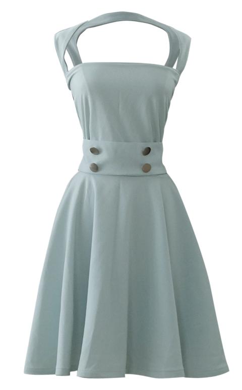 Sea Foam Mint Green Full Circle Dress