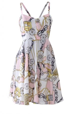 Cinderella's Coach Pink Circle Dress