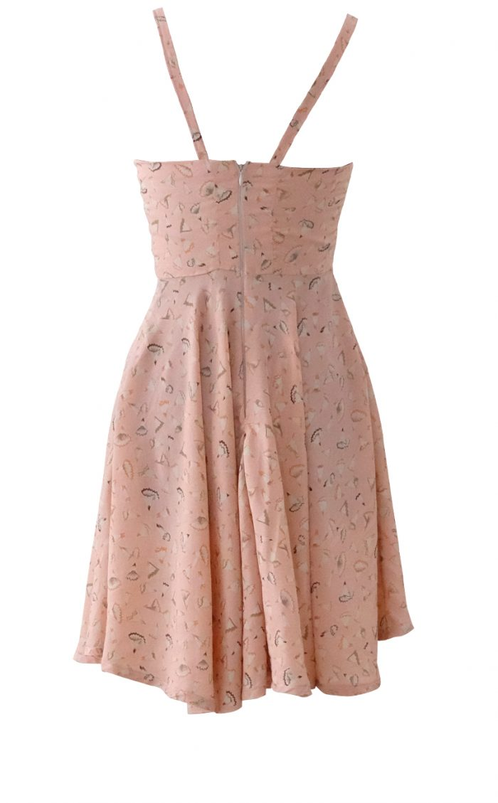 Outside the Lines Pink Blush Sundress