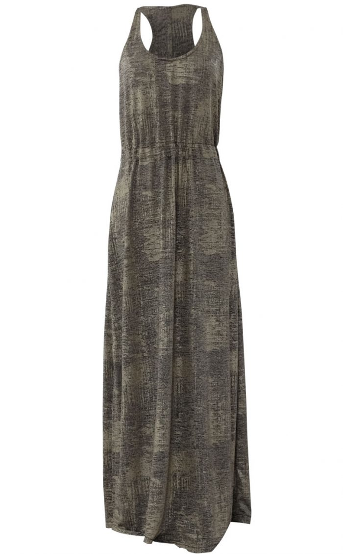 The Midas Touch Gold Maxi Dress by British Steele