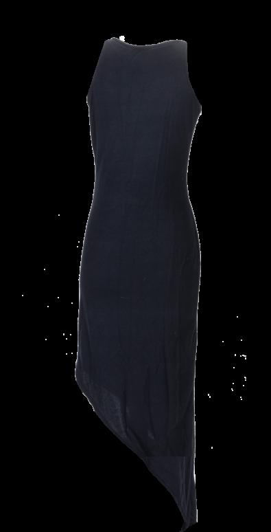 British Steele Fishtail Little Black Dress