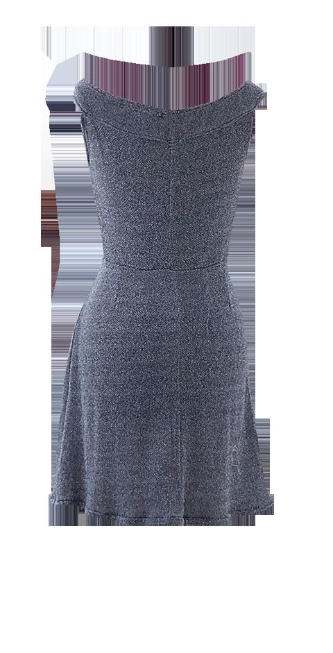 Blue Sparkle Cocktail Dress by British Steele