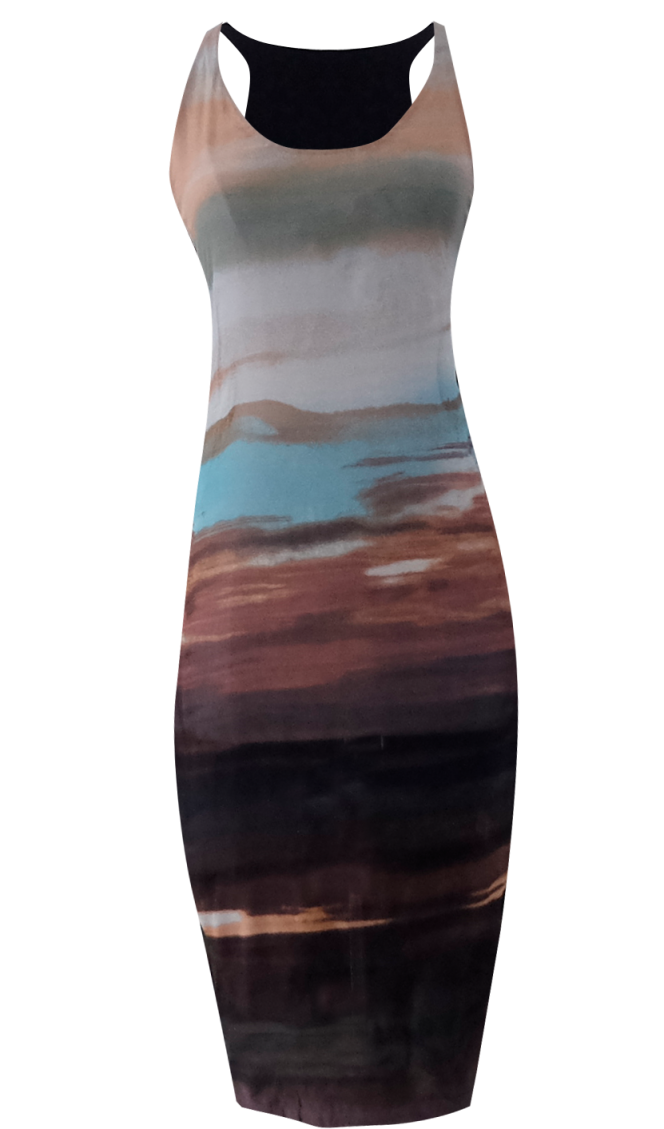 Sunset Tank Dress by British Steele