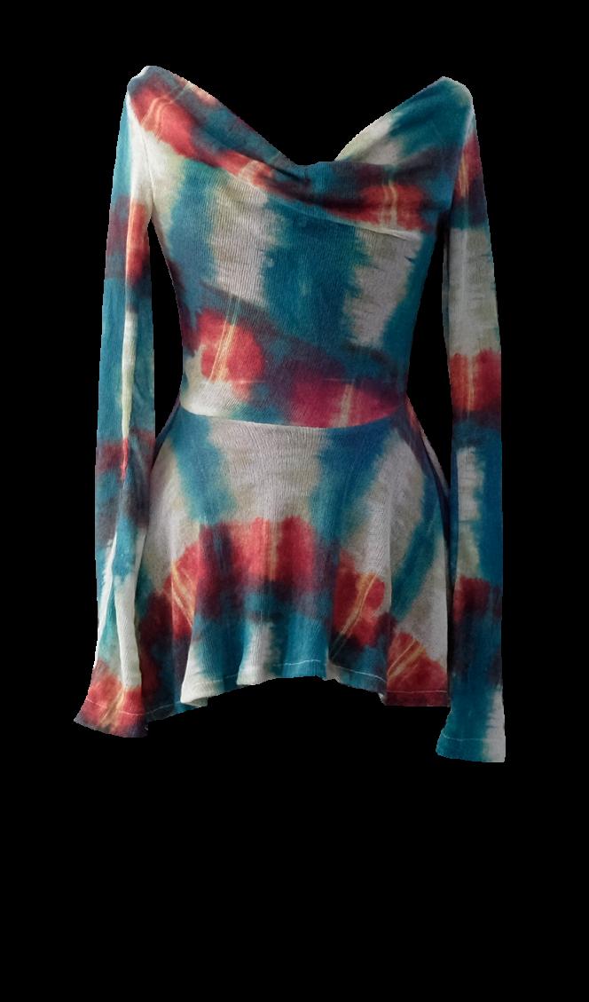 Bloody Mary Peplum Shirt