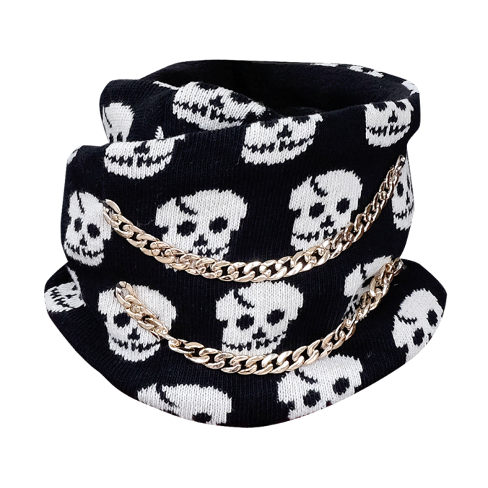 Scull and Chains Infinity Scarf by British Steele