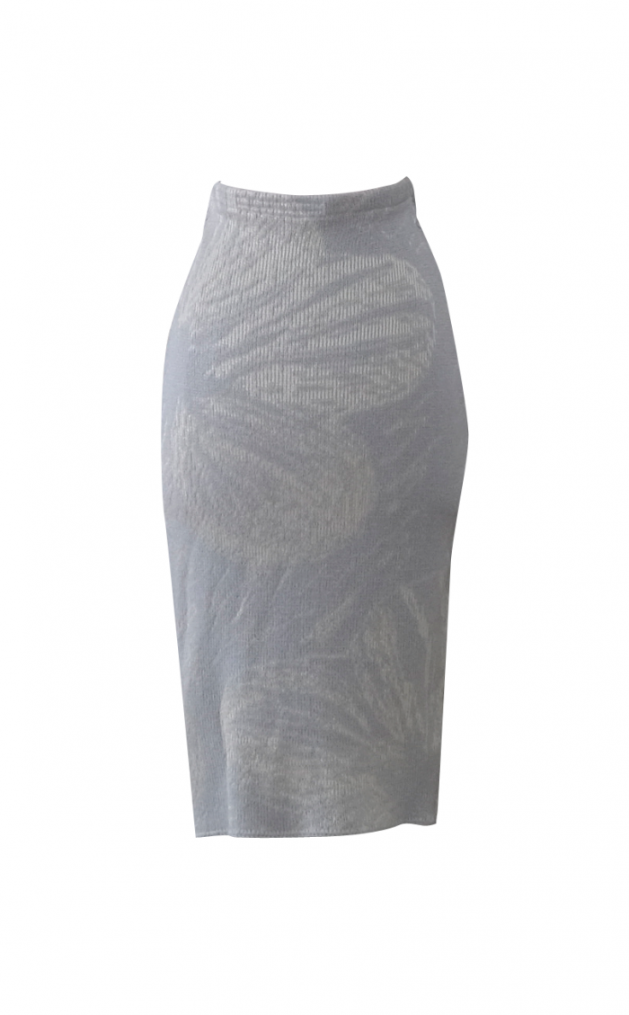 Golden Tiger Lily Sweater Skirt