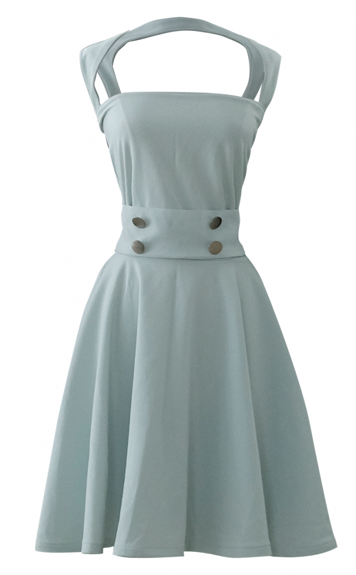 Sea Foam Mint Green Full Circle Dress