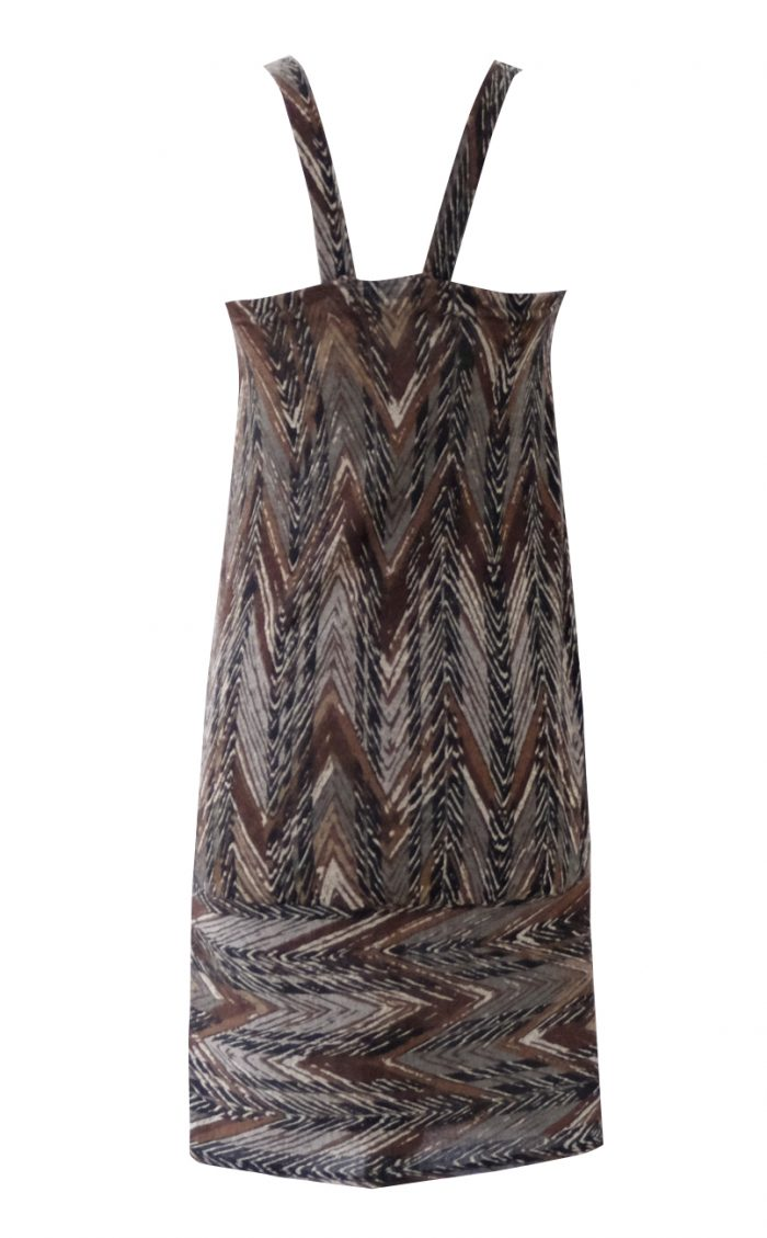 Feathered Shift Dress by British Steele