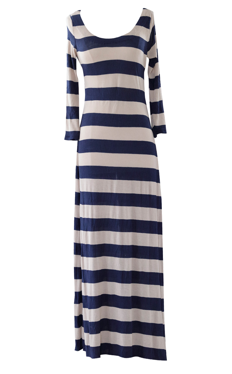 Yikes Stripes Maxi Dress by British Steele